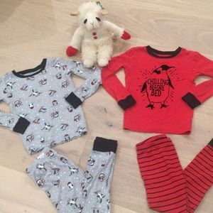 Carter's • Set of 2 Snug Fit Winter Pajamas